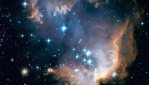 la création des galaxies dans une nébuleuse