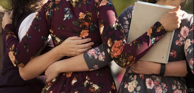 photo de femmes membres de l'Eglise mormone lors de la conférence générale