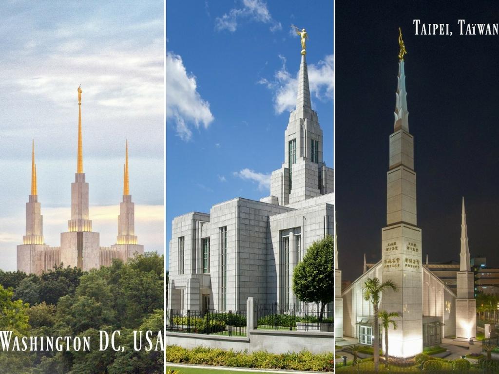 3 histoires incroyables sur 3 temples