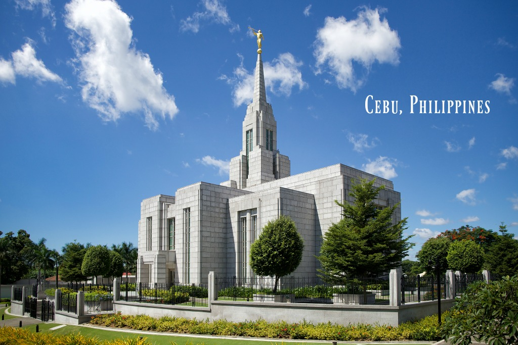 temple de Cebu aux Philippines