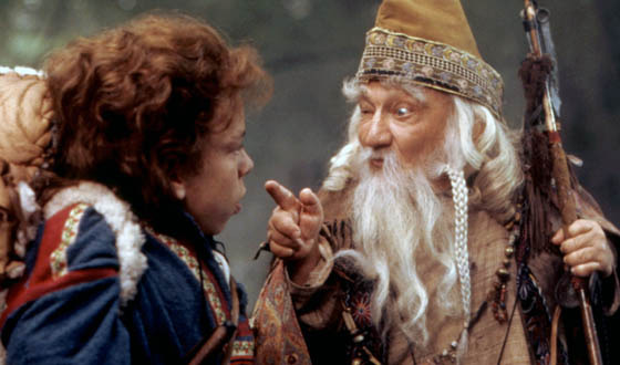 Billy Barty dans le film Willow