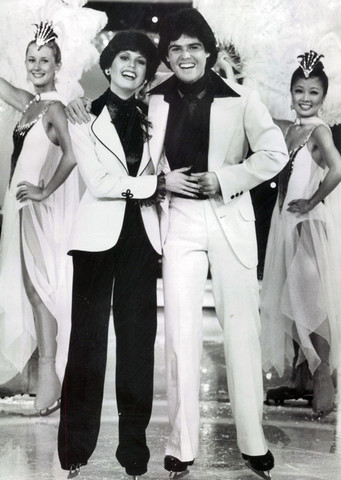 Donny et Marie Osmond en 1977