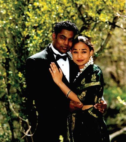 photo de Taj et Priya: le garçon kidnappé en Inde a trouvé en son épouse celle qui allait le conduire jusqu'à sa famille biologique