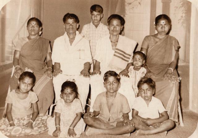 enfant kidnappé en Inde: photo de sa famille biologique
