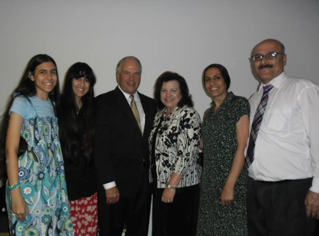 les Tazehabadi ont rencontré Elder Rasband