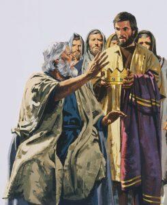les israélites veulent un roi. Prophète Samuel