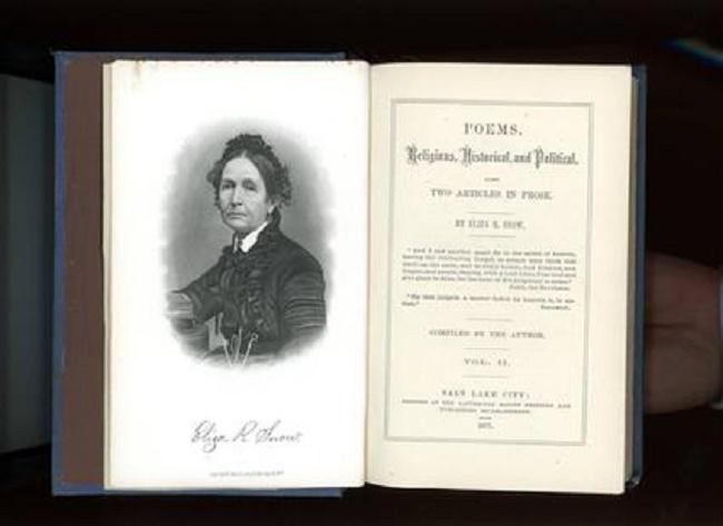 Eliza R Snow a écrit de nombreux poèmes