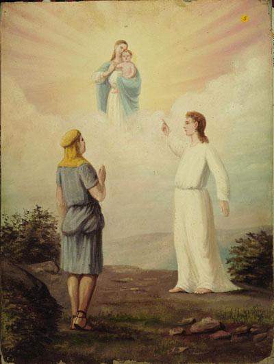 l'arbre de vie dans la vision de Néphi et Marie