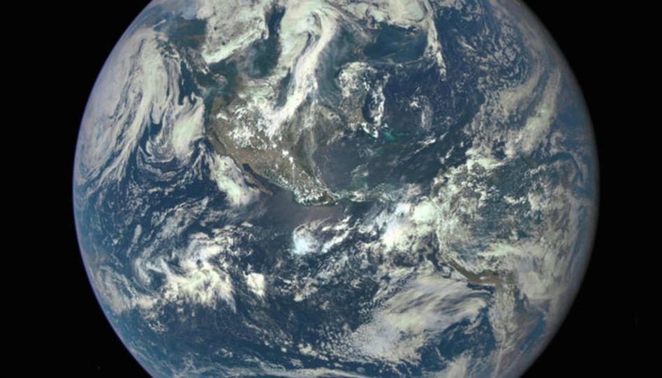 L'impact spirituel d'une photo de la terre vue de l'espace