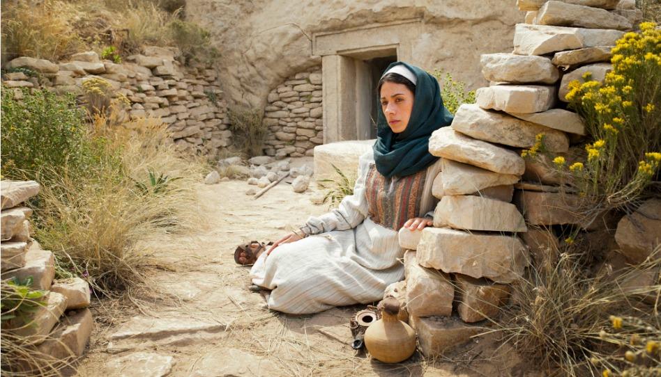 Marie de Magdala près de la tombe vide