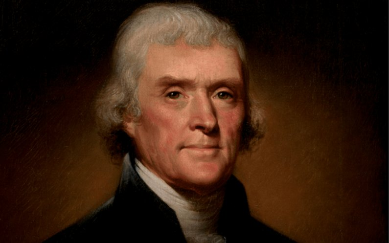 Thomas Jefferson espérait un rétablissement de l'Eglise du Christ