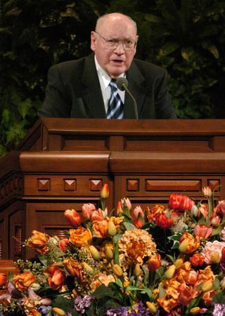 Joseph B. Wirthlin, son dernier discours de conférence générale