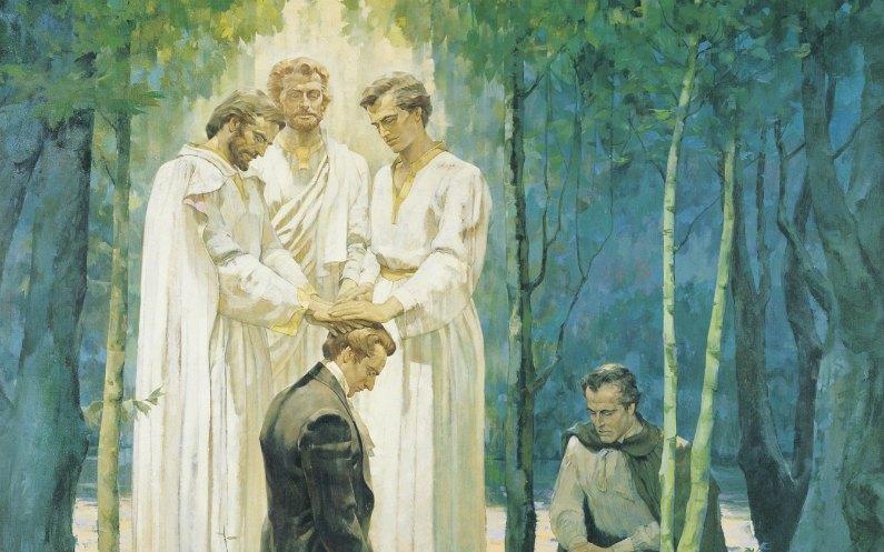 le rétablissement de l'Evangile de Jésus-Christ passe par le retour des clefs de la prêtrise sur Terre