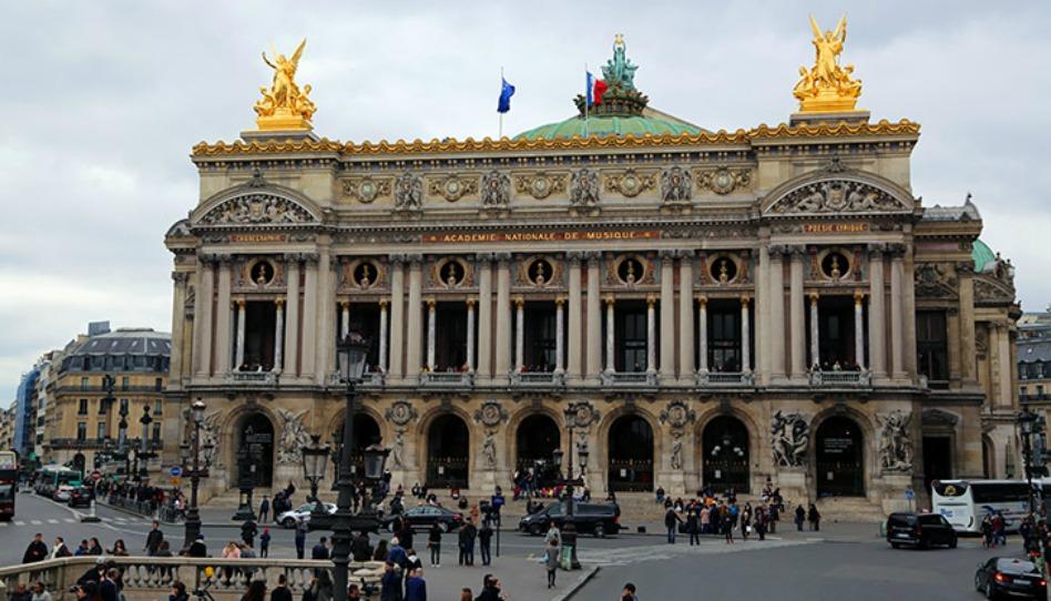 l'Opéra Garnier, une des merveilles architecturales de Paris