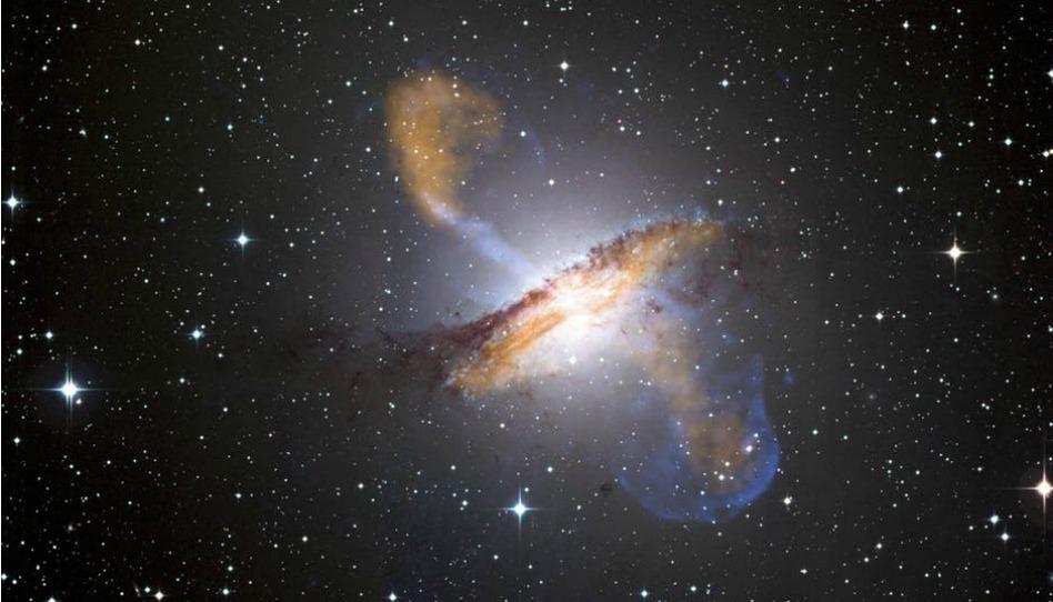 L'univers est grand et nous sommes là, vivants.