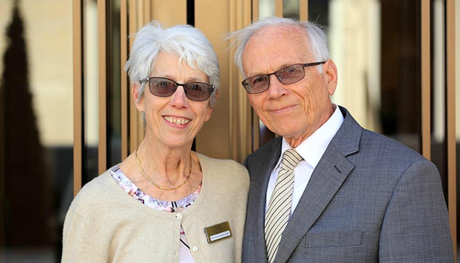 Gérard Giraud-Carrier et son épouse Annie
