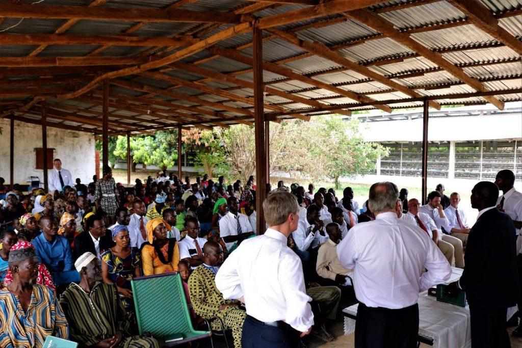 conférence au Mali avec Elder Badnar, après son voyage au Sénégal