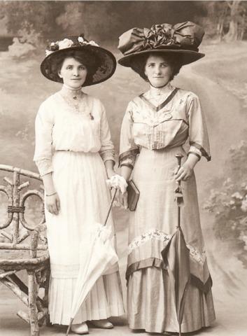 Delphine et Eveline Charlet Kleinert
