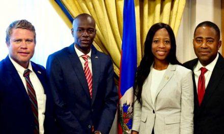 Le président Haïtien reçoit des activistes mormons luttant contre l'esclavage sexuel