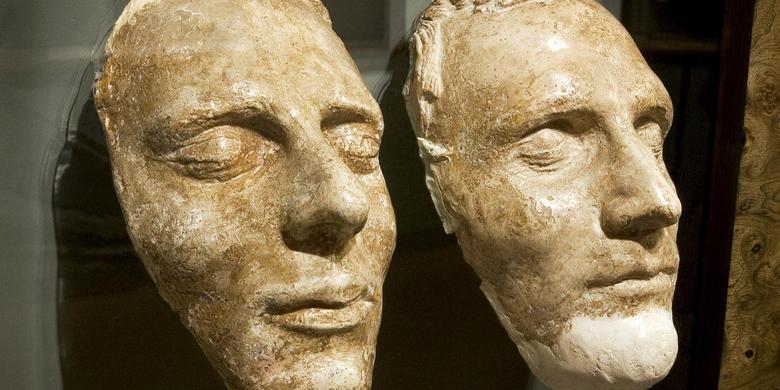 masques mortuaires de Joseph et Hyrum