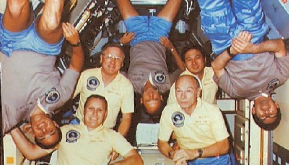 Un astronaute saint des derniers jours explique ce que cela fait de prendre la Sainte Cène dans l'espace