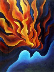 le baptême dans le Livre de Mormon comprend le nettoyage par l'eau et la purification par le feu