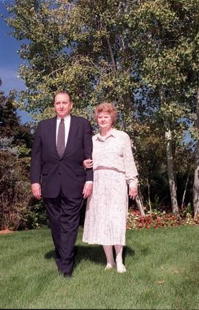 Pdt et soeur Monson ont fêté leurs 50 ans de mariage