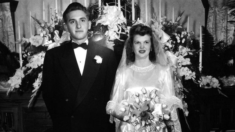 photo de mariage de Pdt et soeur Monson
