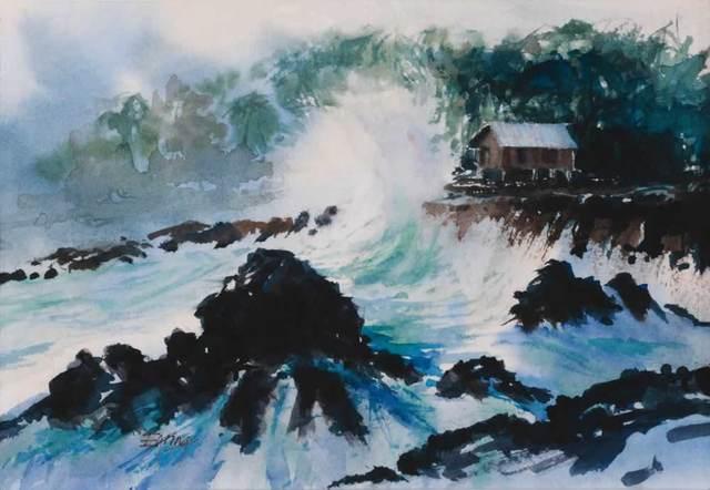 peinture d'Henry B. Eyring