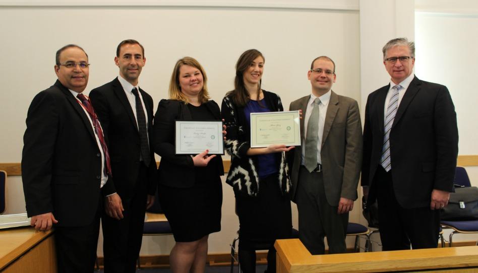 l'Autonomie: certificats pour des membres du pieu de Nice