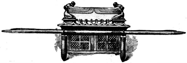 l'arche d'alliance: un des objets surnaturels de Dieu