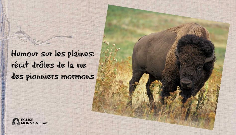 """""""Humour dans les plaines"""": le côté humoristique de la vie des pionniers."""