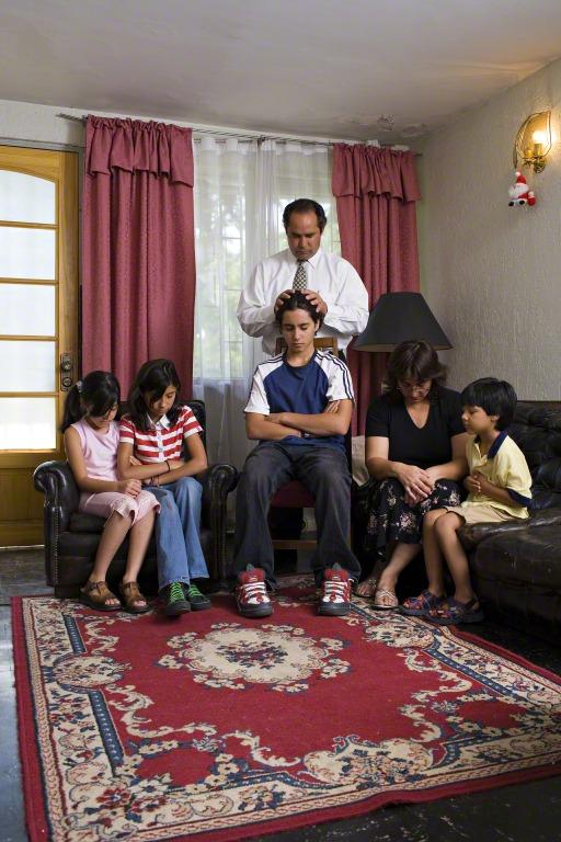 bénédictions et prières pour votre foyer: la bénédiction paternelle