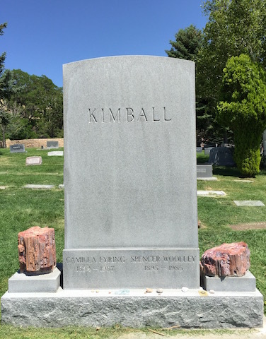 tombe Spencer W Kimball
