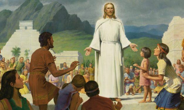 Que pouvons-nous apprendre des premières paroles du Sauveur au pays d'Abondance ?