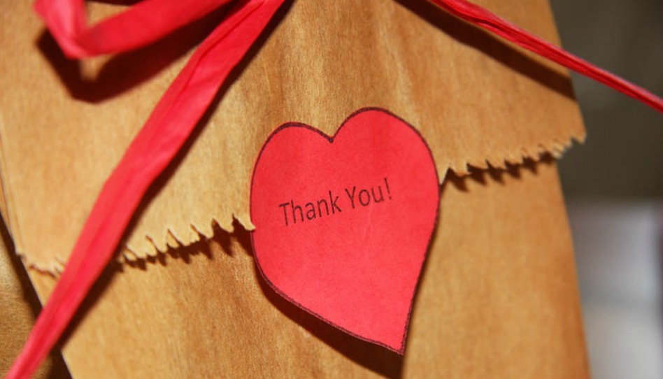 quand on éprouve de la reconnaissance on sait dire merci