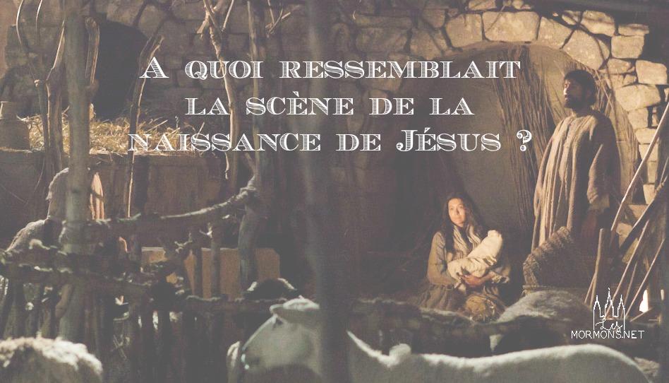 A quoi ressemblait la scène de la naissance de Jésus ?