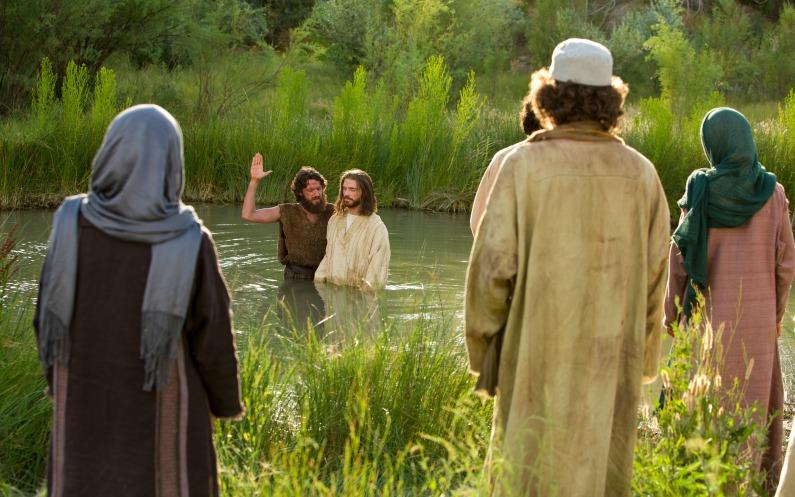 christ baptême