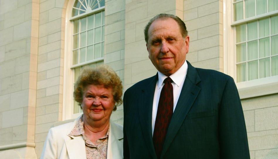 Président Thomas S. Monson et son épouse