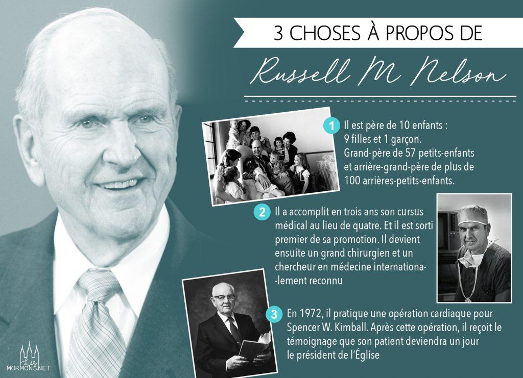 3 choses à savoir sur Russell M. Nelson