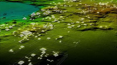image LiDAR des découvertes archéologiques au Guatemala
