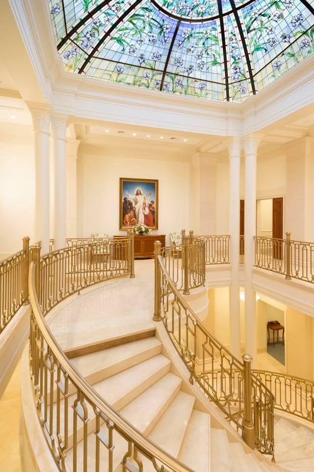 le grand escalier et la coupole