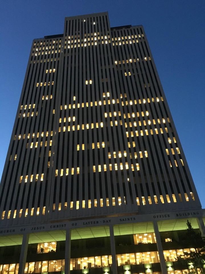 la dîme des mormons sert à entretenir les bâtiments