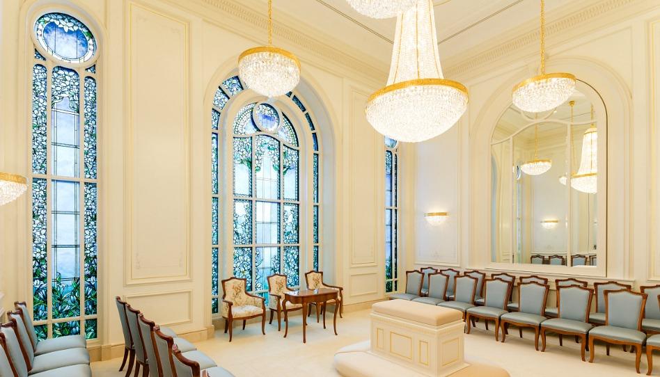 salle de scellement du temple de Paris
