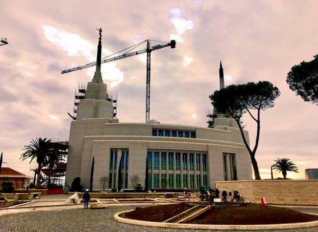 temple de Rome en janvier 2018