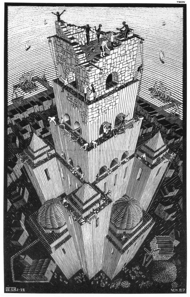 Tour de Babel: M. C. Esher, 1898-1972