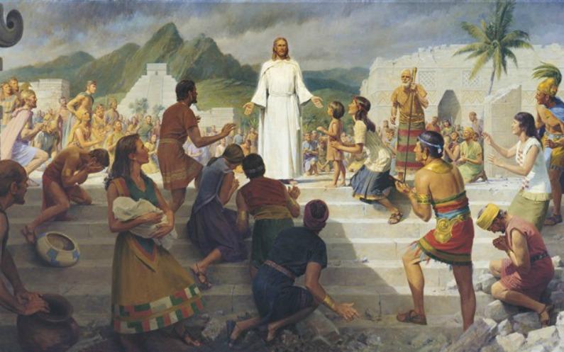 les mormons croient que dieu n'a pas uniquement parlé au peuple d'Israël
