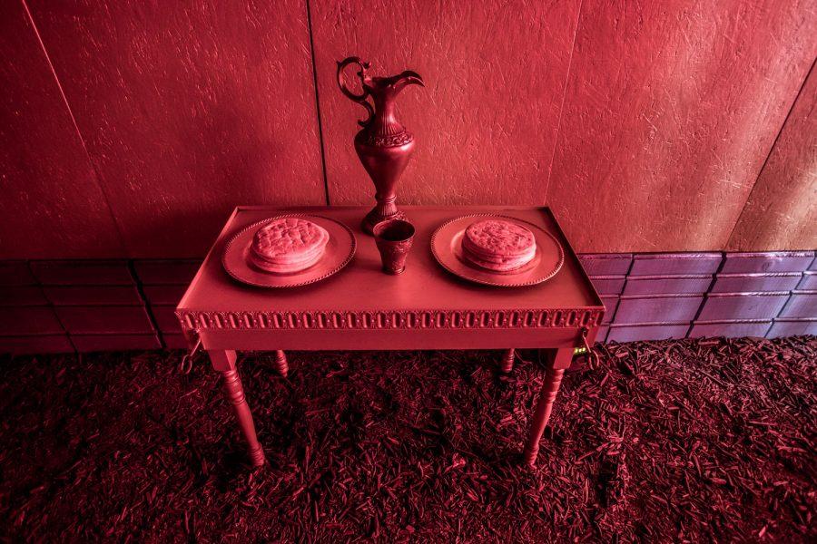 table des offrandes dans le Tabernacle