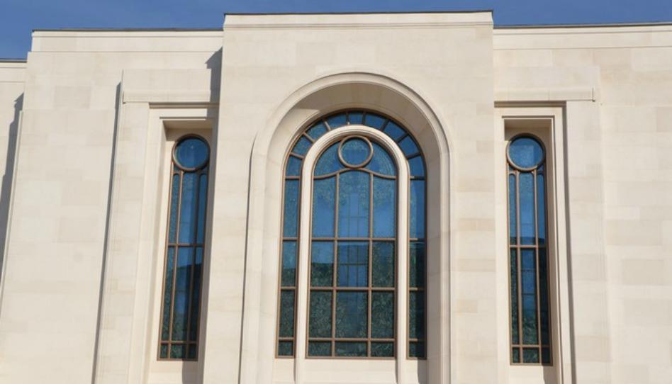 le nombre de temple est un des changements dans l'eglise les plus notables