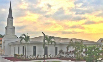 Annonce de la consécration du temple de Kinshasa, en République Démocratique Du Congo